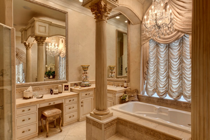 20+ Beige Bathroom Designs, Ideas