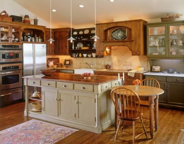 antique green kitchen cabinets 21+ Green Kitchen Designs, Decorating Ideas | Design