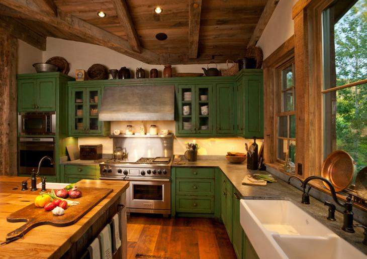 21 Green Kitchen Designs Decorating Ideas Design Trends Premium PSD Vector Downloads