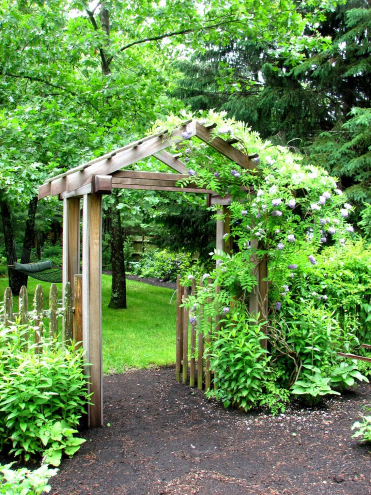 18+ Garden Arbor Designs, Ideas  Design Trends Premium
