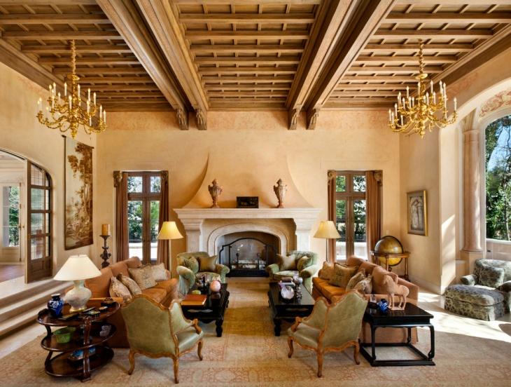 Italian Villa Interior Design