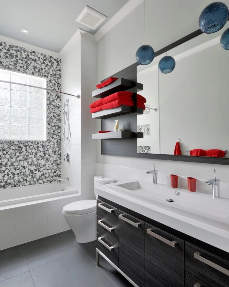 18 Bathroom Floating Shelves Designs Ideas  Design Trends  Premium PSD Vector Downloads