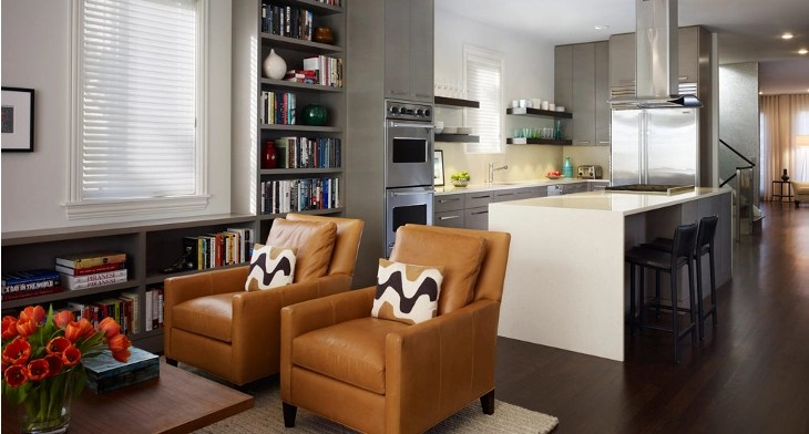 20+ Open Kitchen Living Room Designs, Ideas