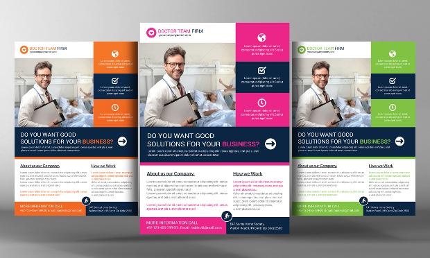 18 Hospital Flyer Templates Printable PSD AI Vector