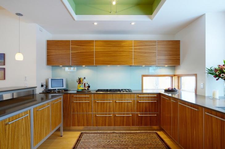 20 Brown Kitchen Cabinet Designs Ideas  Design Trends