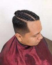 men bun hairstyle ideas design