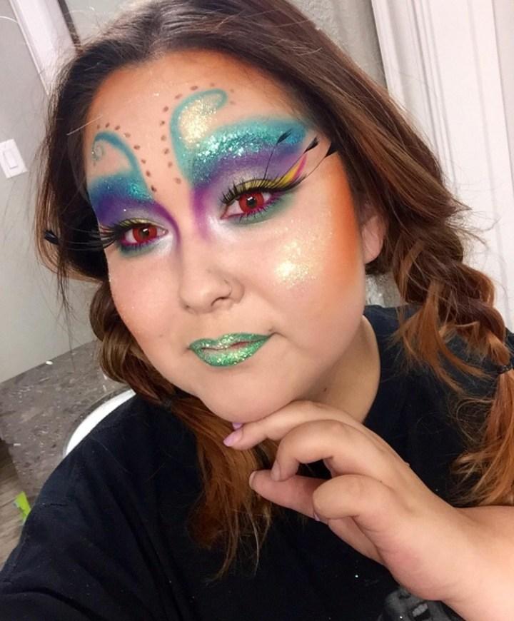 21 Crazy Makeup Designs Trends Ideas Design Premium