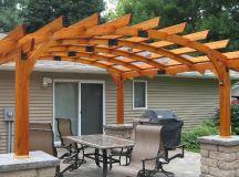 18+ Wooden Pergola Designs, Ideas | Design Trends ...