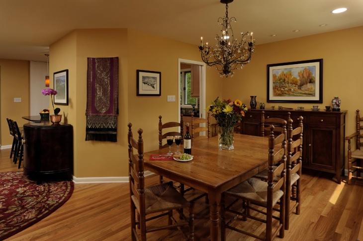 20+ Dining Room Color Designs, Ideas