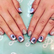 snow nail art design ideas