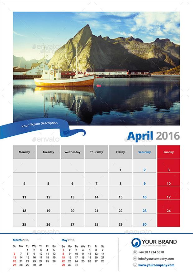 19 Marketing Calendar Template Word PDF PSD EPS AI