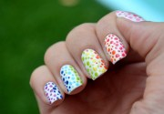 bubble nail art design ideas