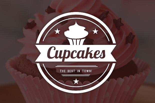 20 Cupcakes Logos Free Editable PSD AI Vector EPS