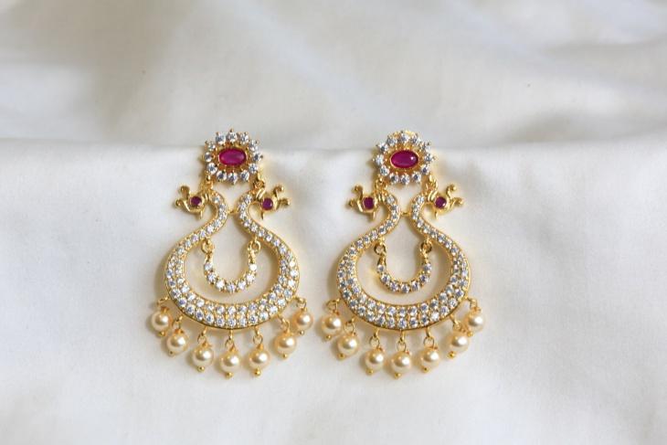21 Peacock Earring Designs Ideas Models Design Trends