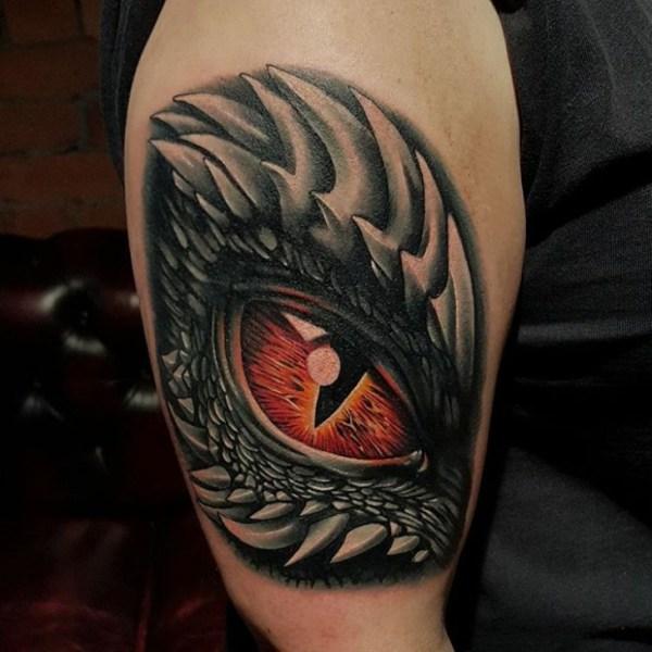 20 Dragon Eye Tattoos For Women Ideas And Designs