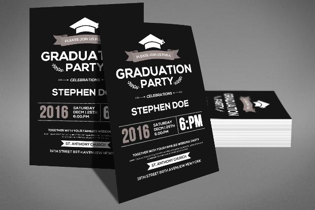 17+ Graduation Party Flyer Templates - Printable PSD, AI, Vector EPS ...