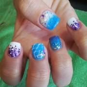 ocean nail art design ideas