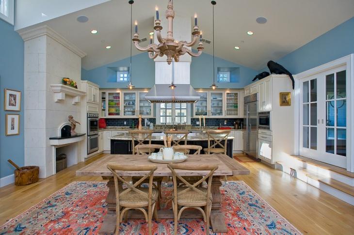 21 Antique White Kitchen Cabinets Designs Ideas  Design Trends  Premium PSD Vector Downloads