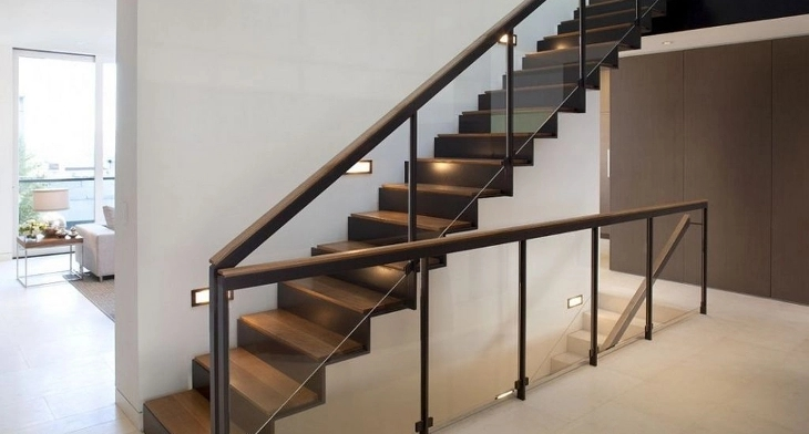 17 Stair Railing Designs Ideas Design Trends Premium Psd | Staircase Side Railing Designs | Stair Pattern | Simple | Residential | Italian | Entrance