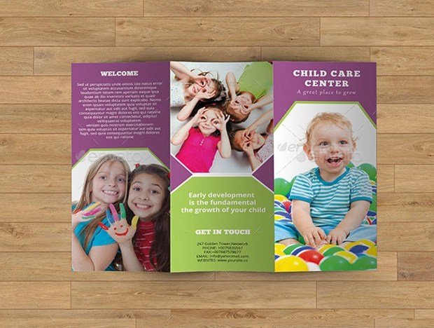 Child Care Brochures Ideal Vistalist Co
