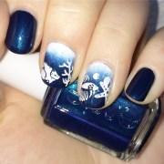 fish nail art design ideas