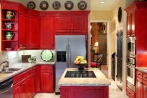 20+ Red Oak Kitchen Cabinets Designs   Design Trends ...