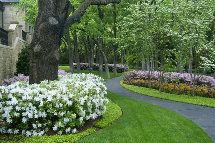 20 Shrub Garden Designs Ideas Design Trends Premium PSD