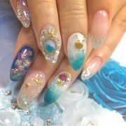 aquarium nail art design