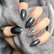 holographic nail art design