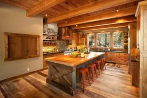 20+ Rustic Kitchen Island Designs, Ideas   Design Trends ...