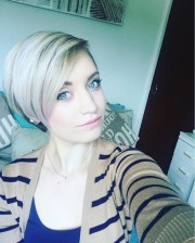 emo pixie haircut ideas design