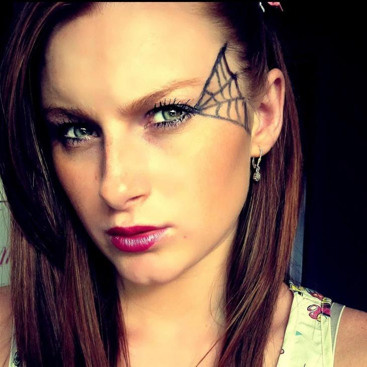 17 Spider Web Makeup Designs Trends Ideas Design