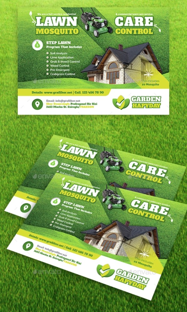 landscaping flyer design