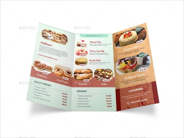 15 Bakery Brochures Free PSD AI InDesign Vector EPS