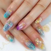 starfish nail art design