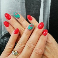 21+ Starfish Nail Art Designs, Ideas
