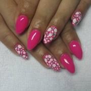 circle nail art design ideas