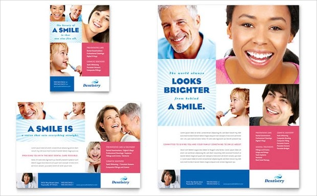 20 Dental Flyer Templates Printable PSD AI Vector EPS