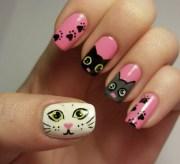 paw nail art design ideas