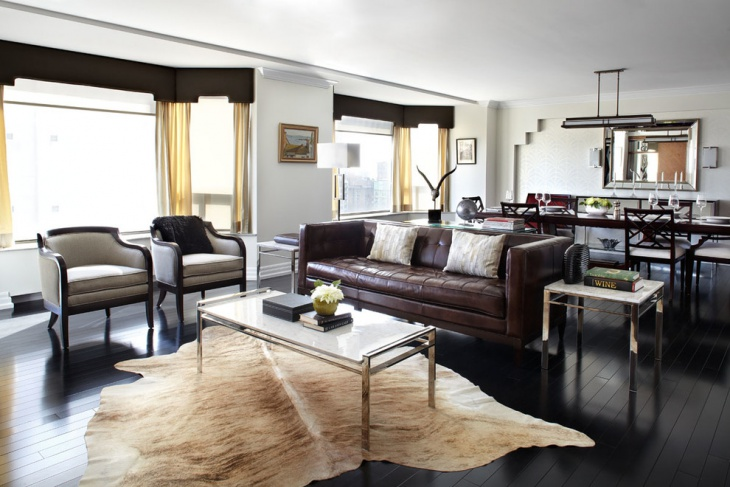 how to decorate a living room with dark brown couch simple tv unit design for 18+ masculine designs   trends ...