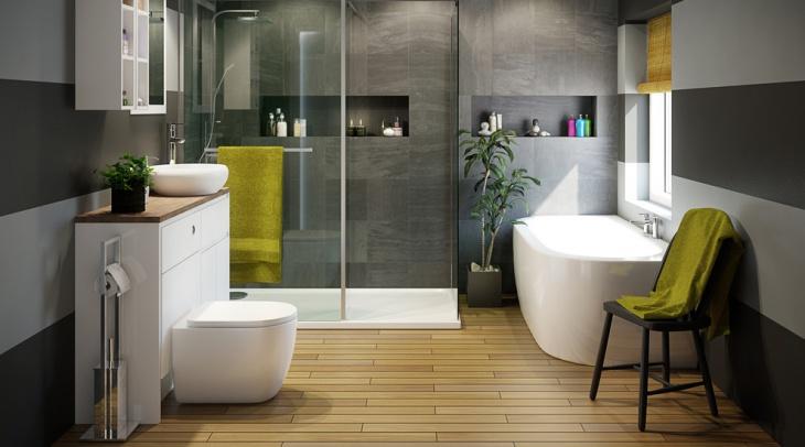 18+ 3 Piece Bathroom Designs, Ideas