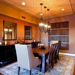 Wooden Kitchen Table Small Island Ideas 18+ Dining Room Ceiling Light Designs, | Design ...