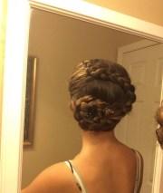 flower braid hairstyle ideas