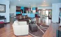 20+ Open Kitchen Living Room Designs, Ideas