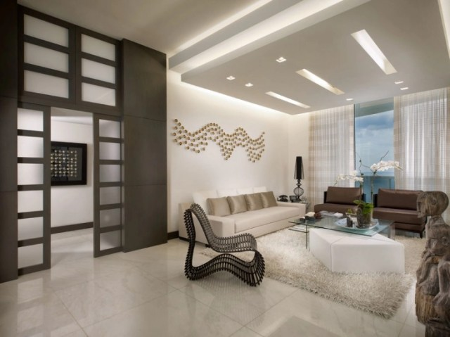20+ Living Room False Ceiling Designs | Design Trends ...