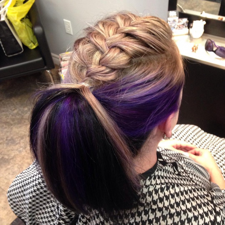 20 French Braid Ponytail Haircut Ideas Designs