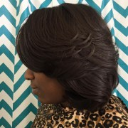 feathered bob haircut ideas