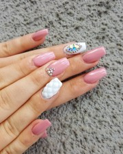 crystal nail art design ideas