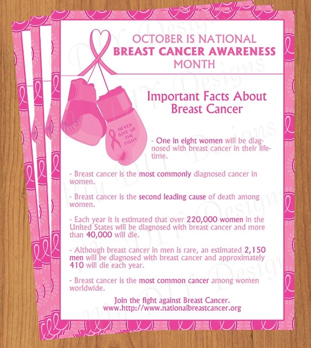 18 Breast Cancer Awareness Flyer Templates Printable