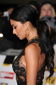 curly ponytail haircut ideas